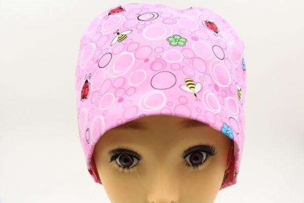 醫療專用頭巾-粉