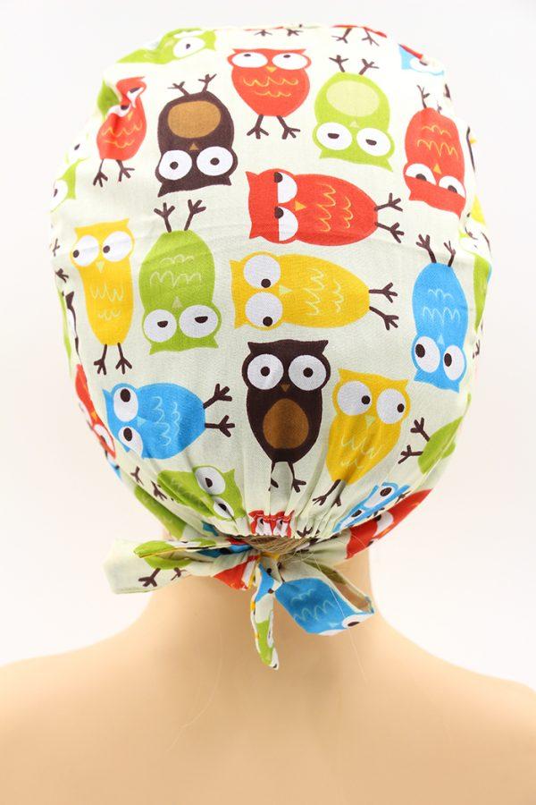 醫療專用頭巾-鳥