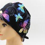 醫療專用頭巾-黑