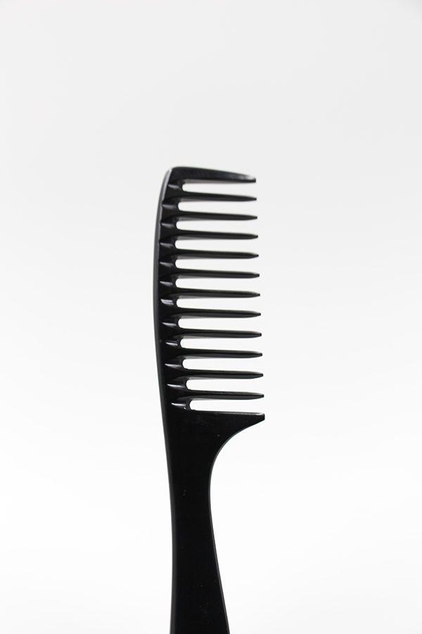 髮的林 梳子